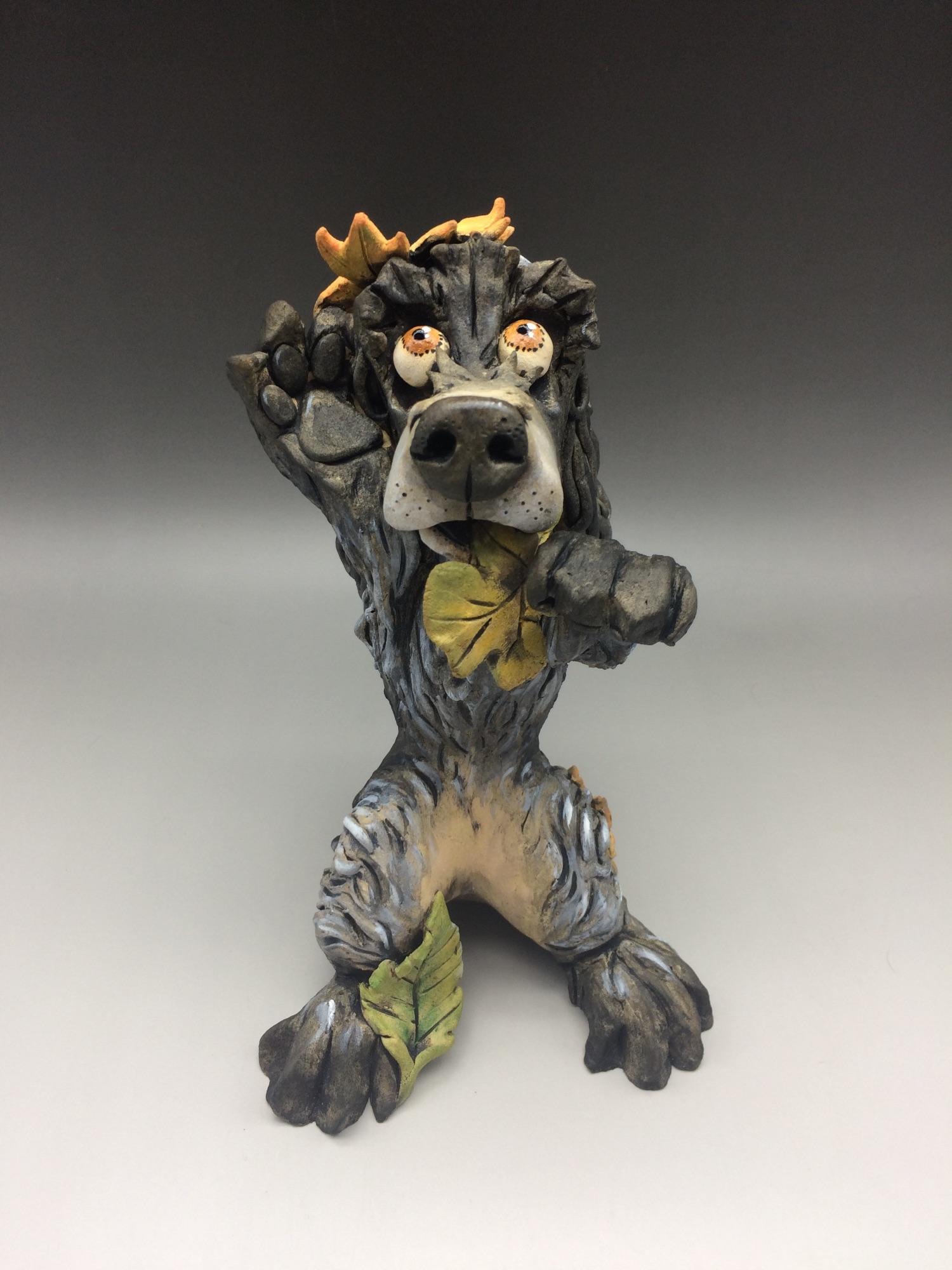 Cocker Spaniel Dog Sculptures Ceramic