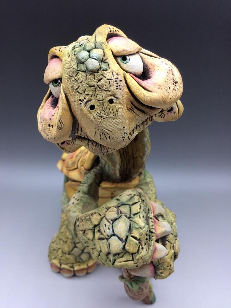 The Story Teller, Tortoise Sculpture