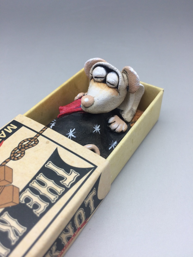 Mouse in a Matchbox Sculpture - The Knot