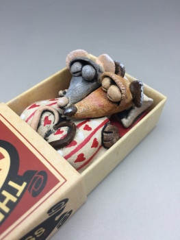 Mouse in a Matchbox Sculpture - The Cross