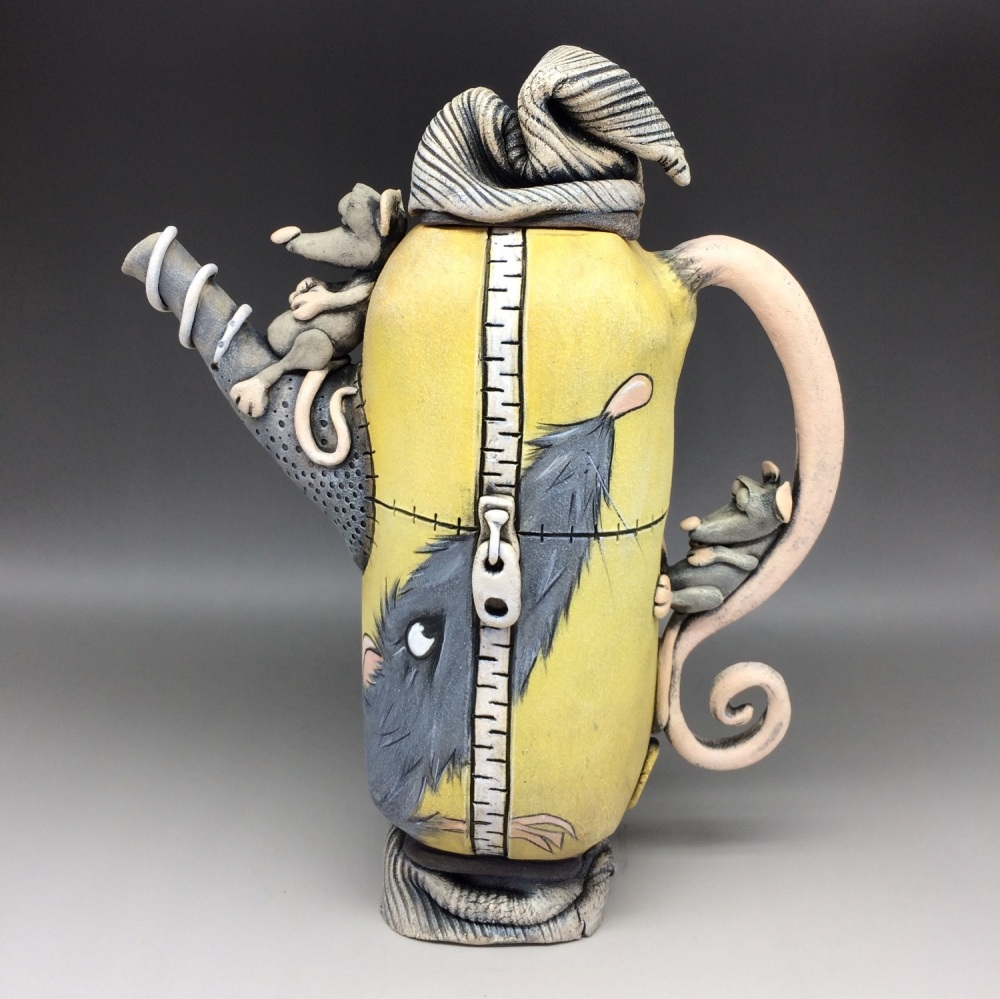 Ratty  Teapot, Ceramic