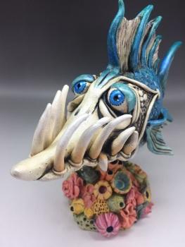 'Perseus' Fish Sculpture