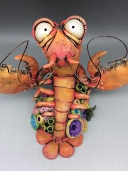 'Clawson' Lobster Sculpture