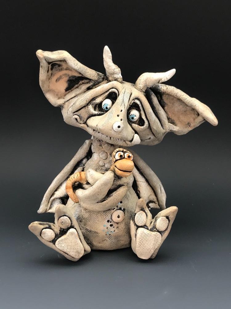 Dolostone the Gargoyle, Sculpture