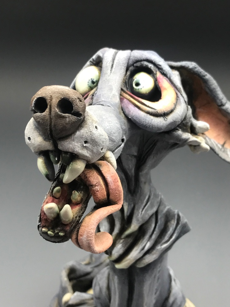 Harry the Howler, Wolf Sculpture