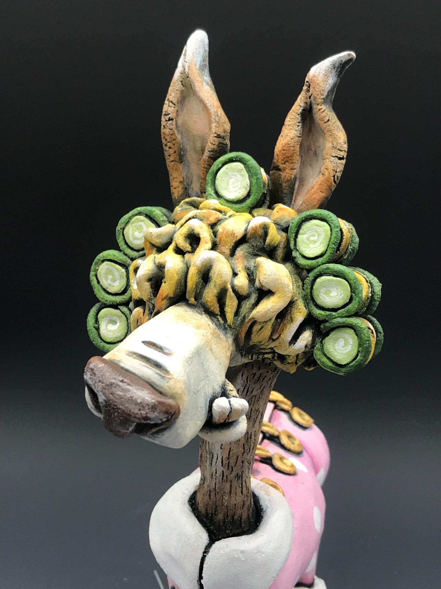 Llama Sculpture Ceramic