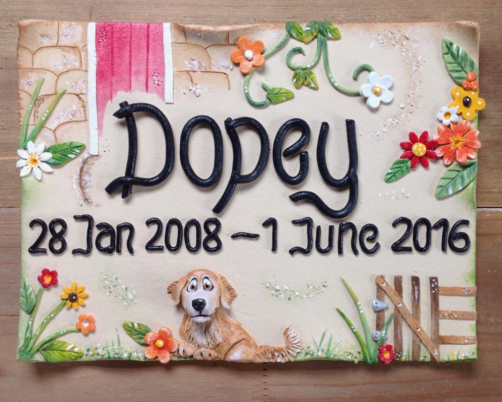 Memorial Plaques for Pets