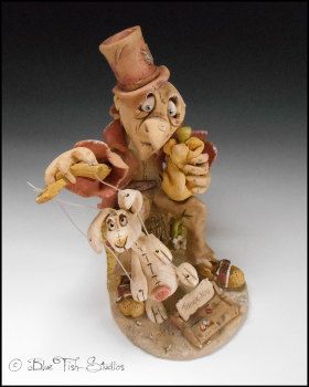 The Puppeteer - ceramic sculpture