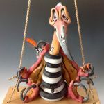 Terrance the Pterodactyl - Ceramic Sculpture (3)