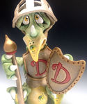 Dudley Dragon Knight - Ceramic Sculpture (4)