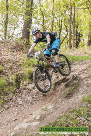 299 x 449 | Nigel Pilling | Grizedale Forest Enduro | Sublime Rides | Pics and Vids | Lake District Mountain Bike Guide | Grizedale Forest MTB