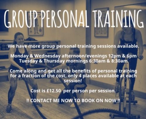 1 Group Personal Training Session