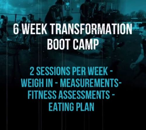 6 Week Body Transformation Boot Camp