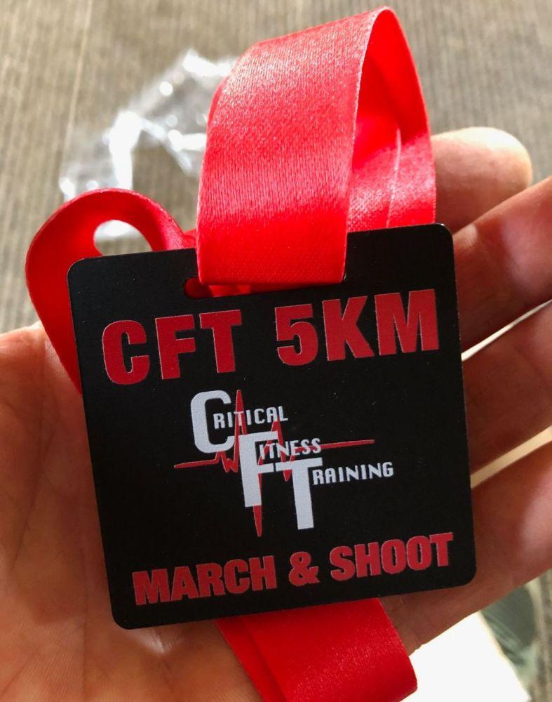 CFT 5km OCR MEDAL
