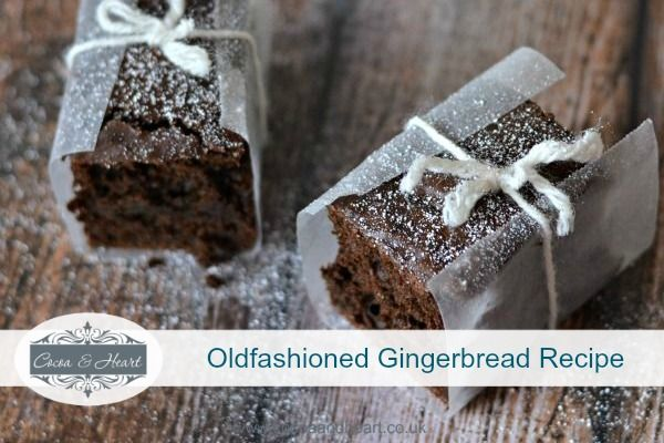 Oldfashioned Ginger Bread Recipe