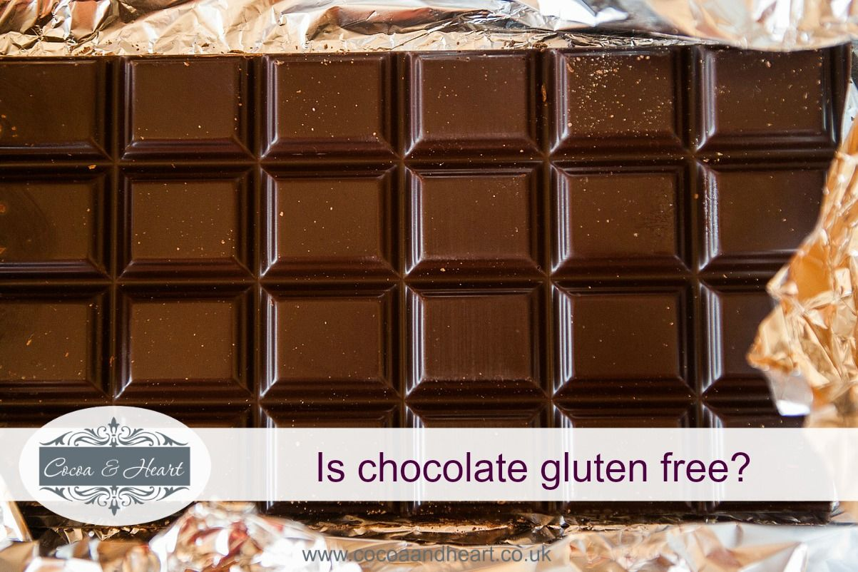 Is chocolate gluten free?