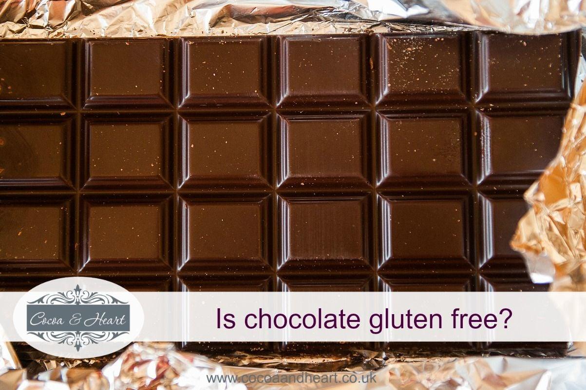 Is chocolate gluten free?