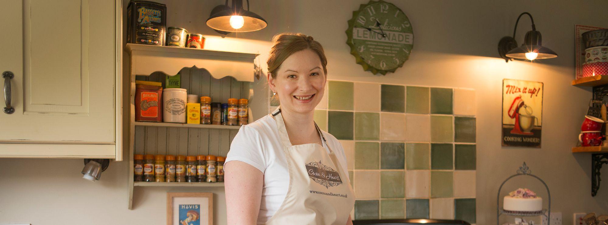 Cocoa & Heart's owner Magdalena Marsden