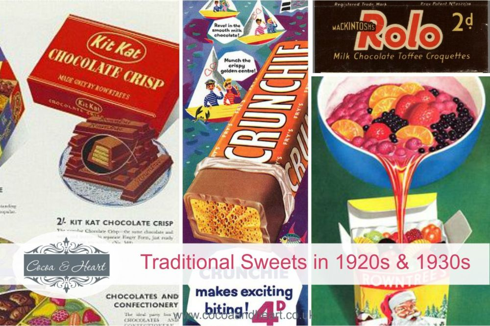 Traditional Sweets in 1920s & 1930s