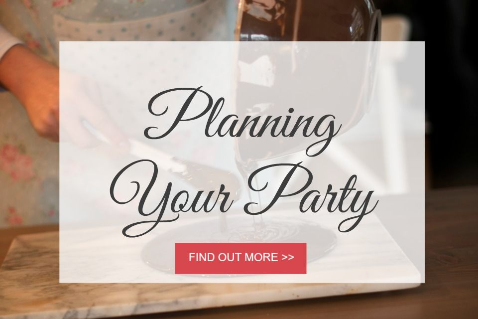 Planning your chocolate themed party