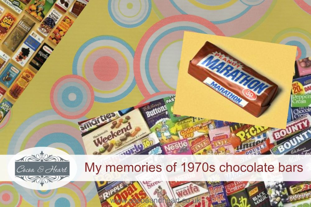 My memories of 1970s chocolate bars