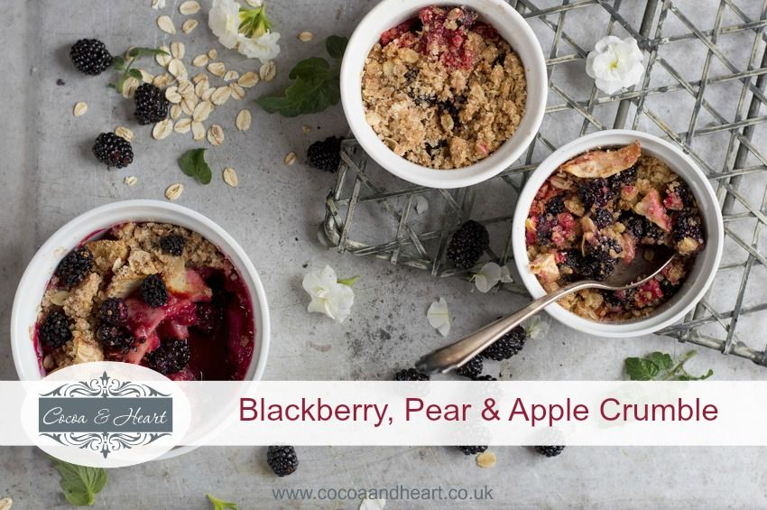 Blackberry, Pear & Apple Crumble Recipe