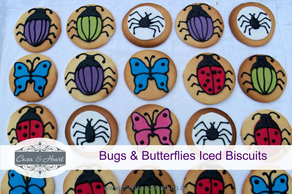 Bugs & Butterflies Iced Biscuits Recipe