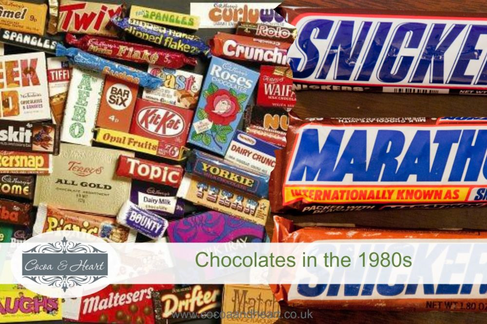 Chocolates in the 1980s