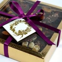 Fruit & Nuts Dark Chocolate Mendiants