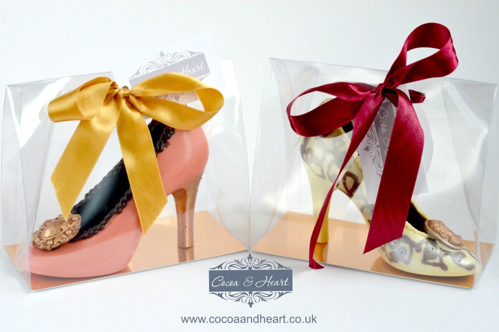 Chocolate shoes for local delivery