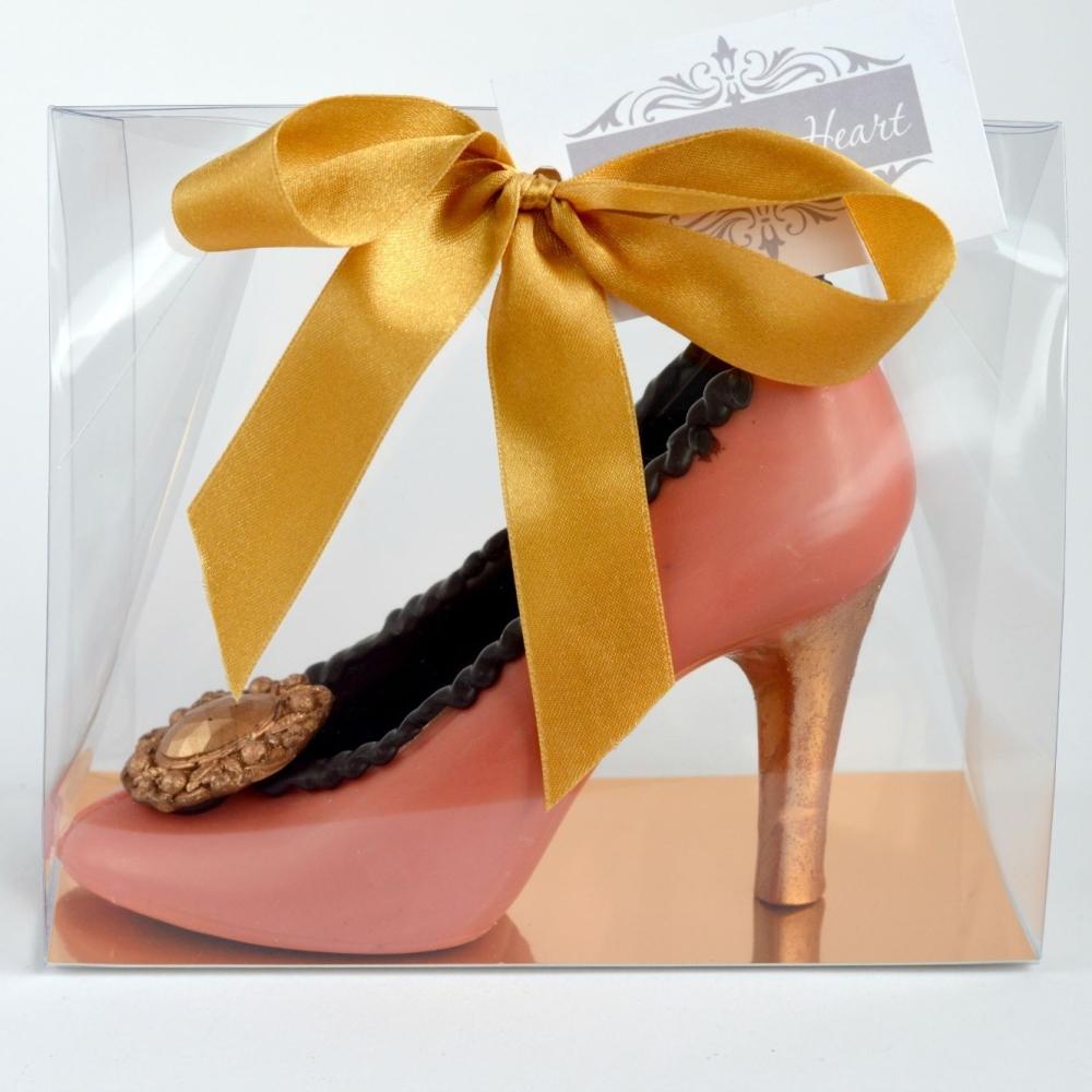 Chocolate Stiletto Shoe