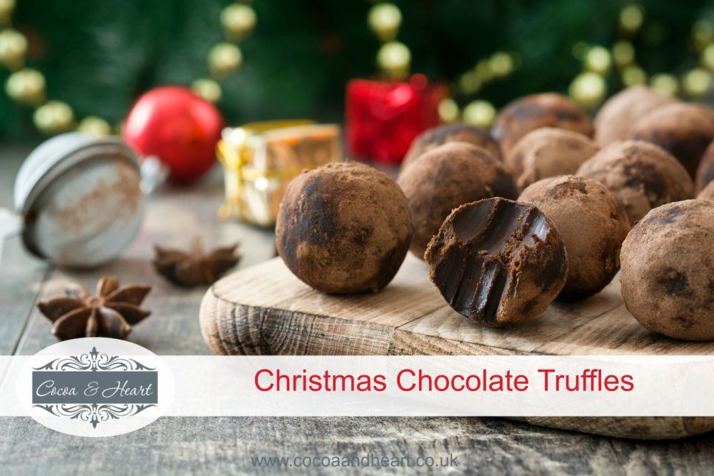 Christmas Chocolate Truffles Recipe
