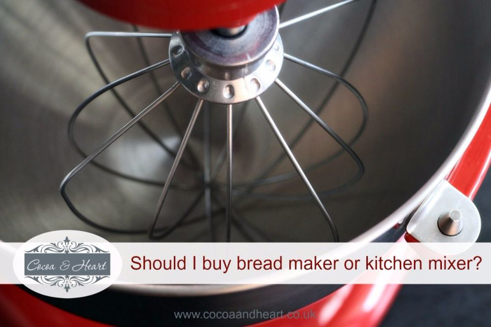 bread maker or kitchen mixer