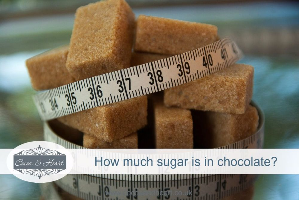 How much sugar is in chocolate
