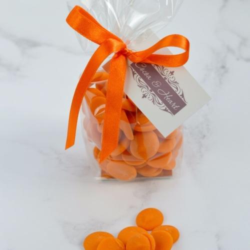 Orange Chocolate Buttons