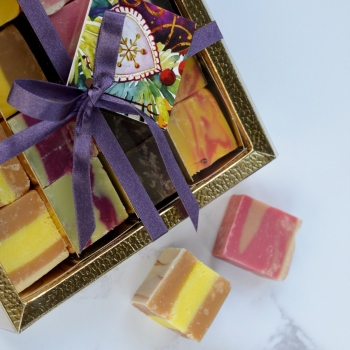 Christmas Fudge Gift Box