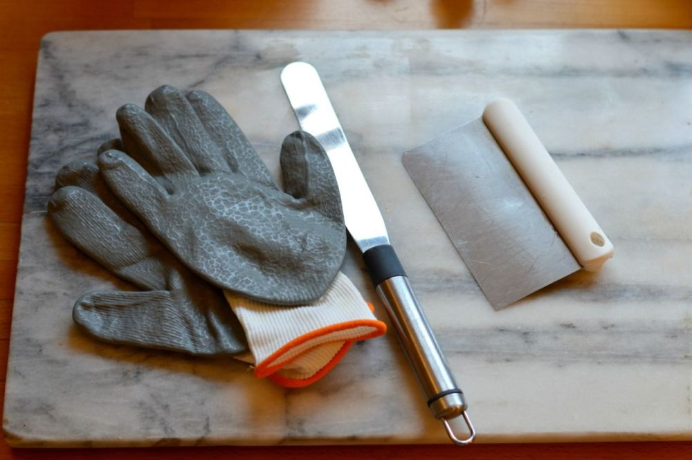 Candy cane recipe equipment