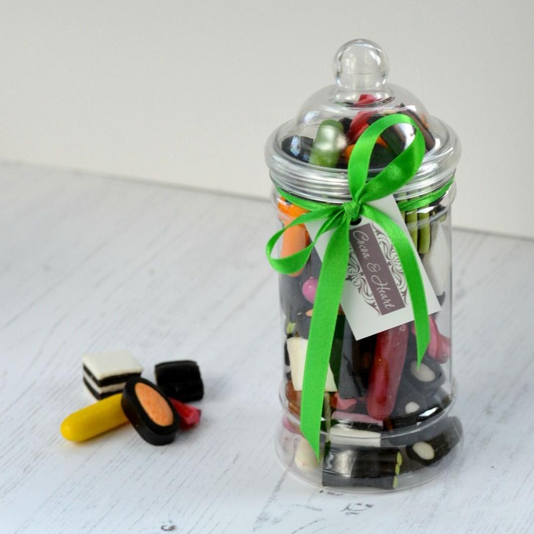 Liquorice Sweets Jar