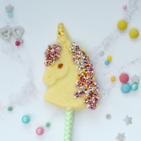 Unicorn Chocolate Lollipop