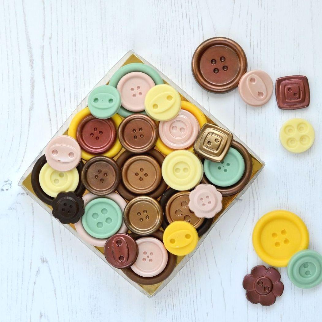 Handmade Chocolate Buttons