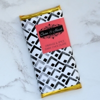 Orange & Spice Dark Chocolate Bar