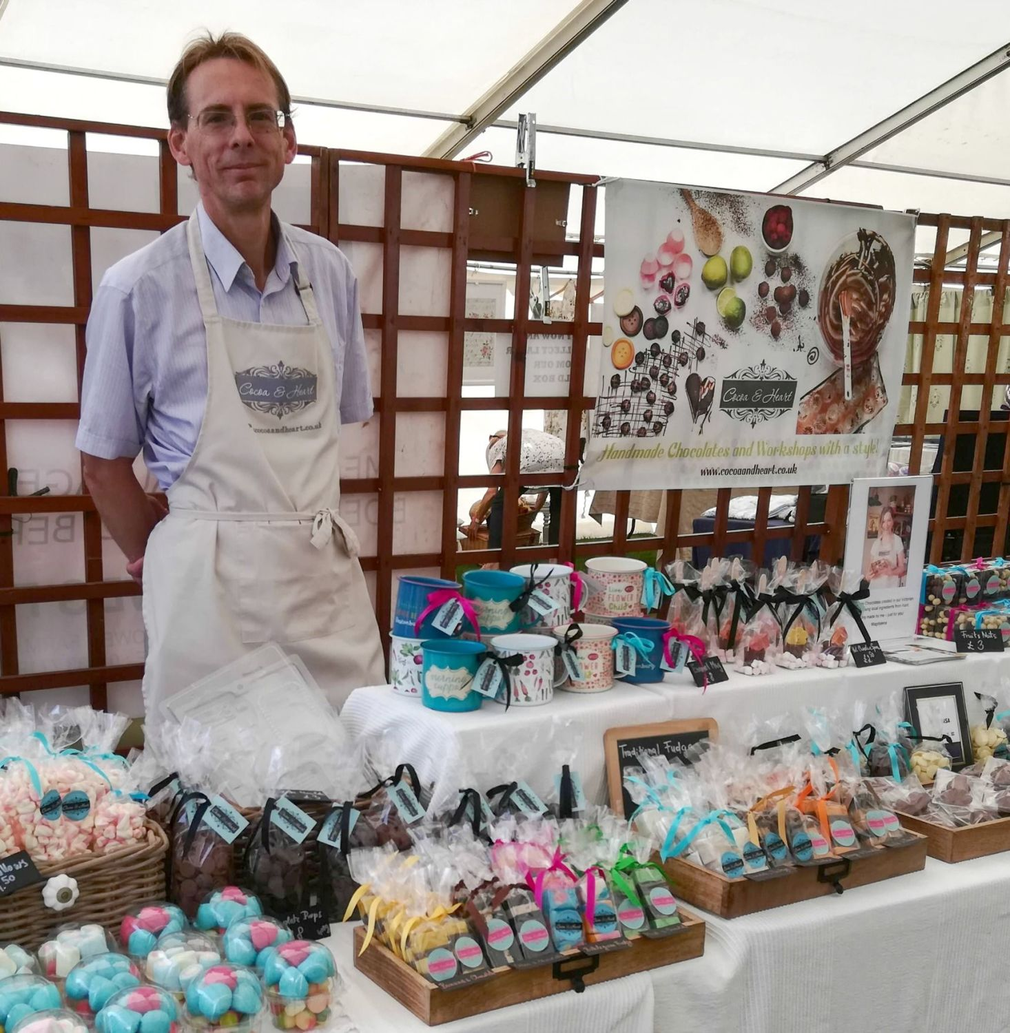 Cocoa & Heart at Hever Castle