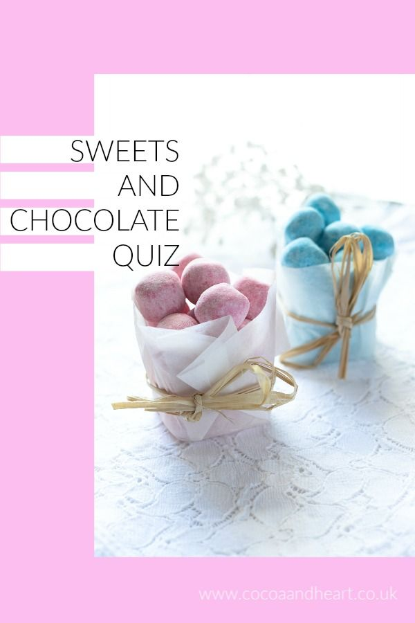 Traditional Sweets & Chocolate Quiz Pin