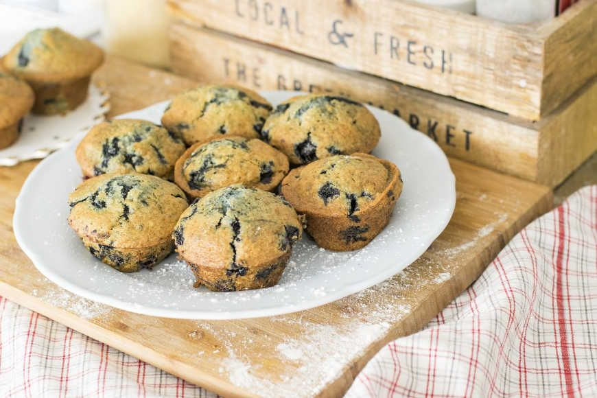 Sourdough Blueberry Muffins Recipe