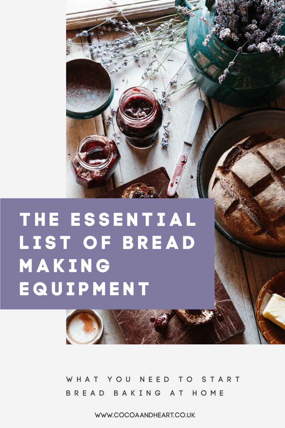 The ultimate bread making equipment list
