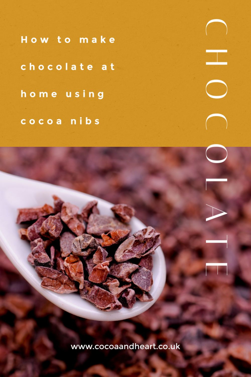 How to make chocolate at home using cocoa nibs (1)
