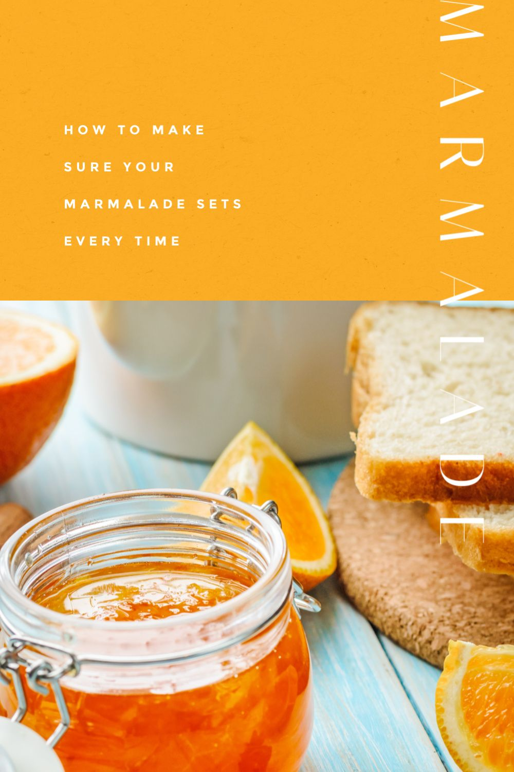 How to set your marmalade