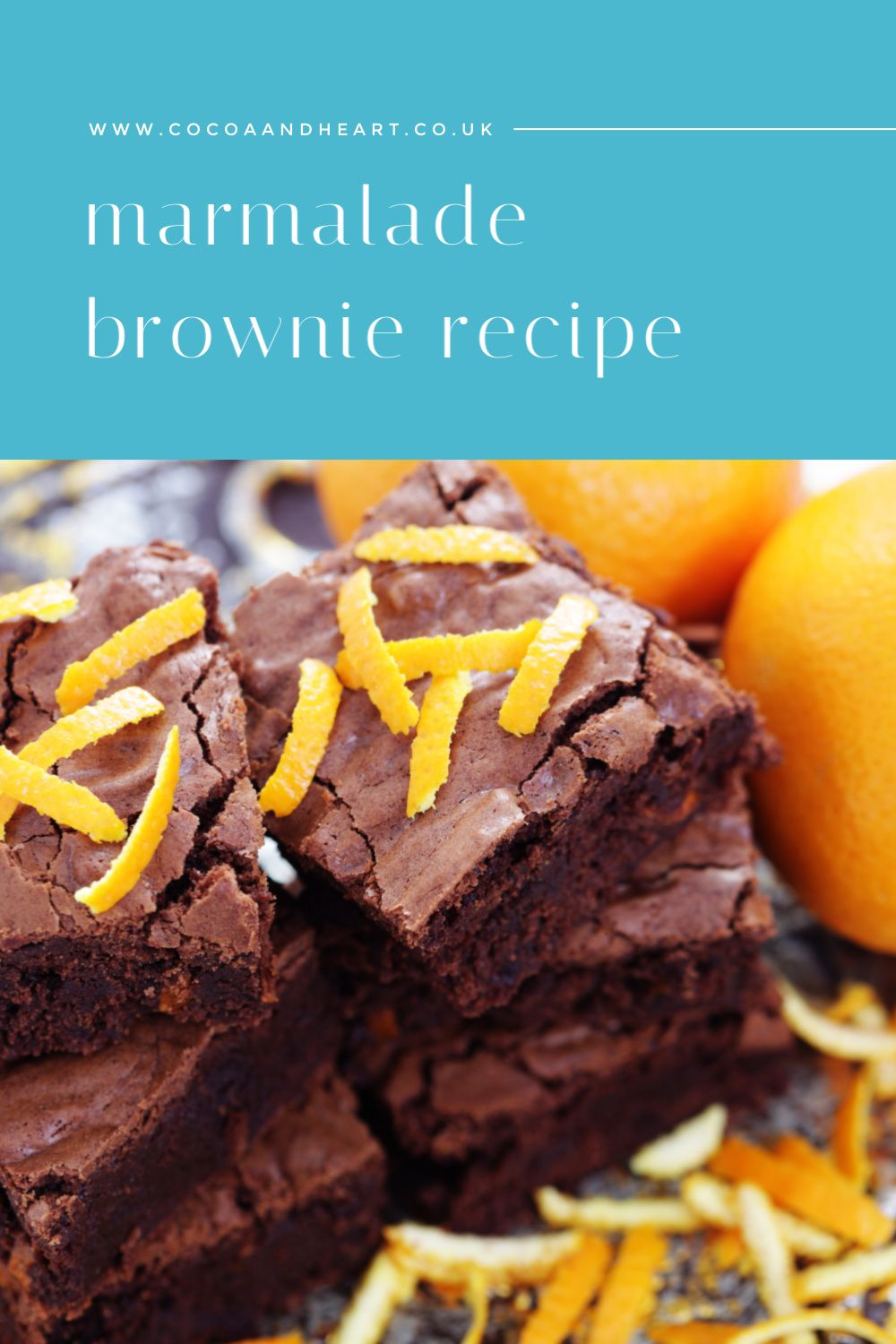 Marmalade Brownies Recipe