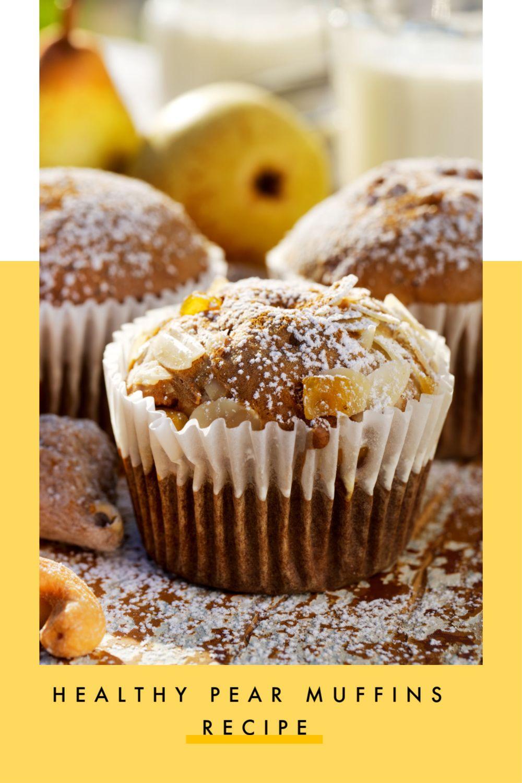 Easy Pear Muffin Recipe