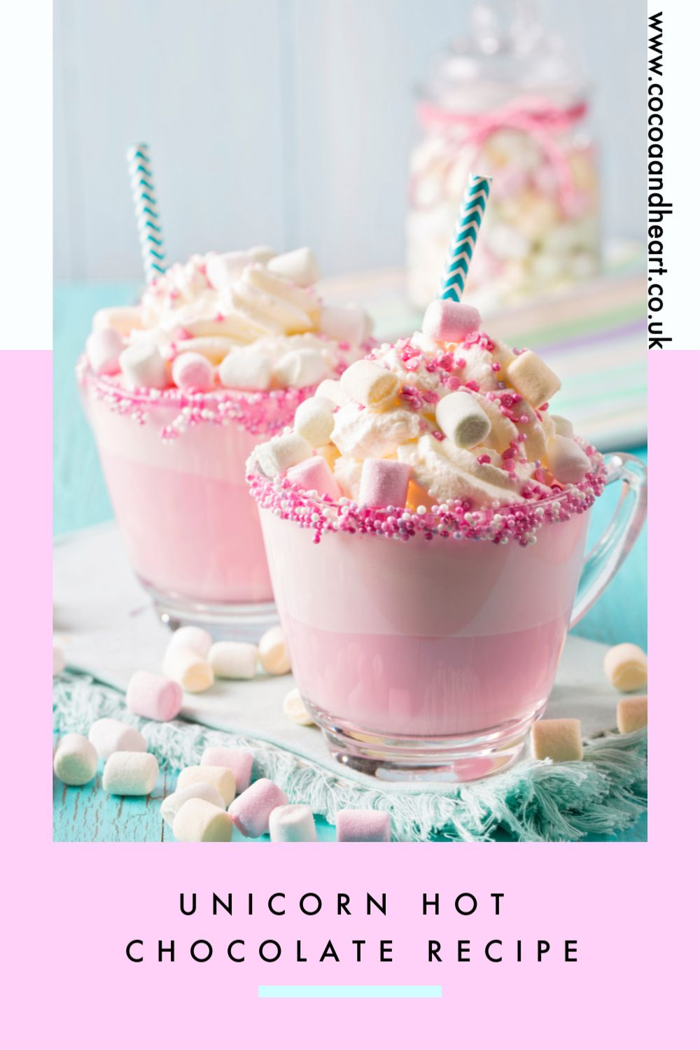 Unicorn Hot Chocolate Drink Recipe (1)